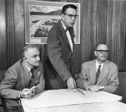 Russell E. Horn, Sr.; Lester L. Buchart; Clair S. Buchart