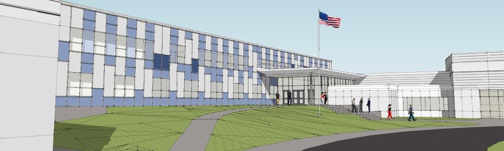 Warren High School rendering